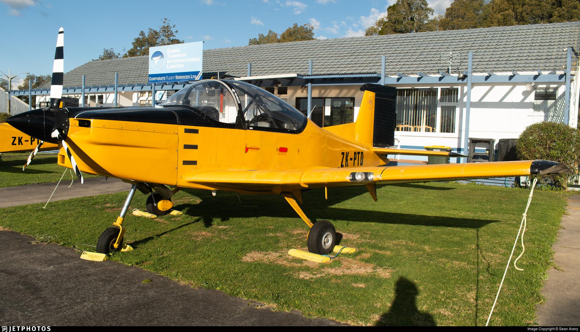 ZK-PTD - Pacific Aerospace CT-4E Airtrainer - Private