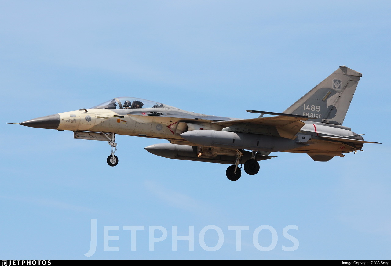 1489 - AIDC F-CK-1C Ching Kuo - Taiwan - Air Force