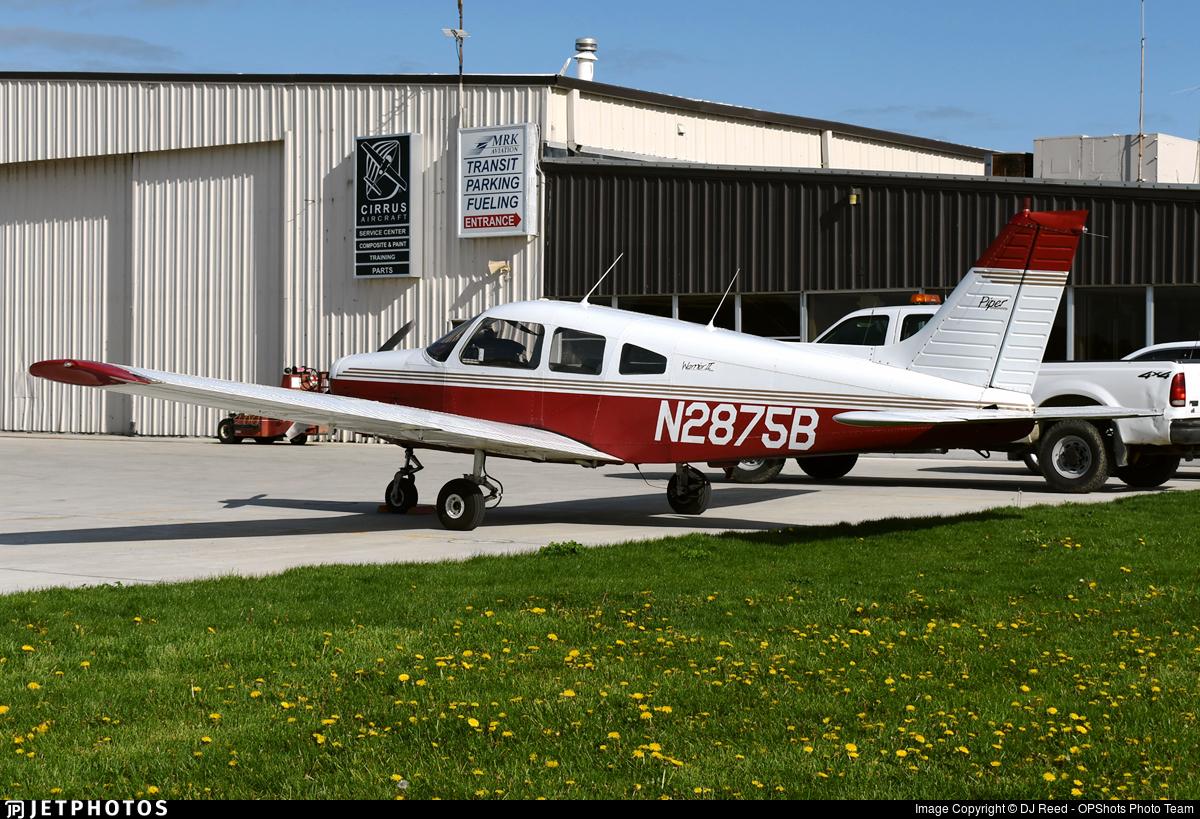 N2875B - Piper PA-28-161 Warrior II - Private