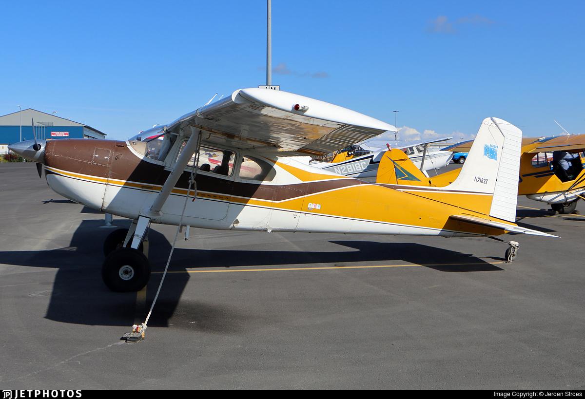 N2162Z - Cessna 180F Skywagon - Private