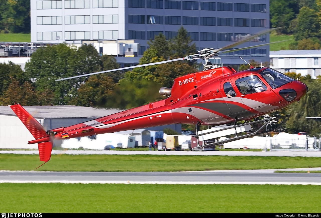 D-HFCE - Aérospatiale AS 350BA Ecureuil - Heli-Flight