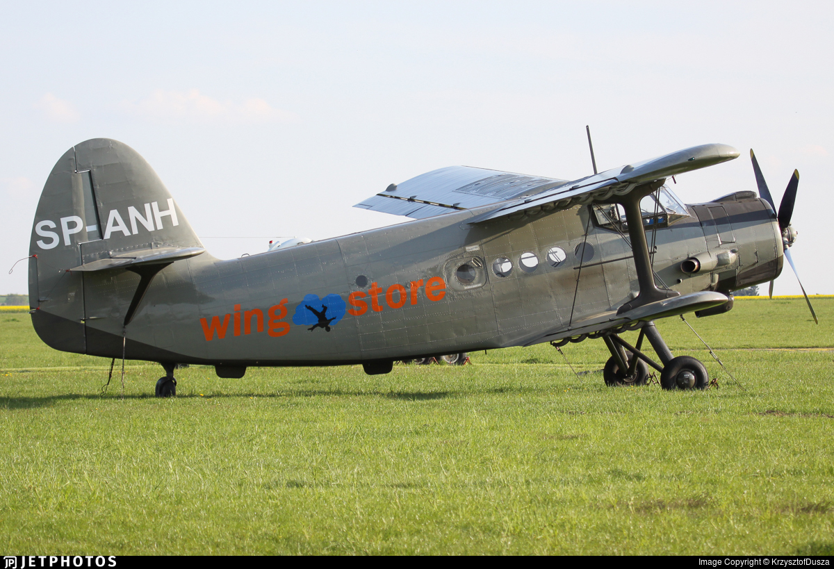 SP-ANH - PZL-Mielec An-2 - Private