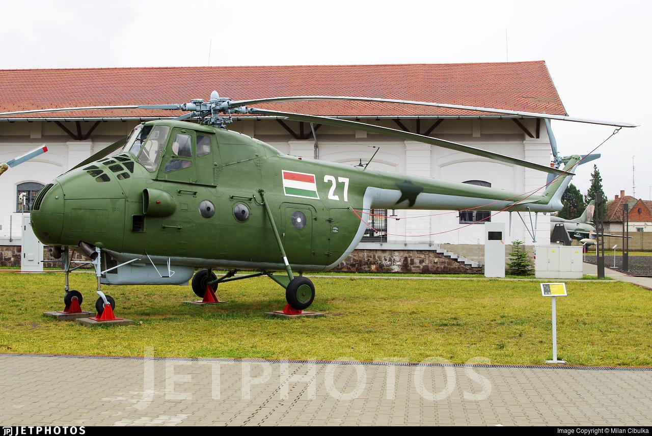 27 - Mil Mi-4A Hound - Hungary - Air Force