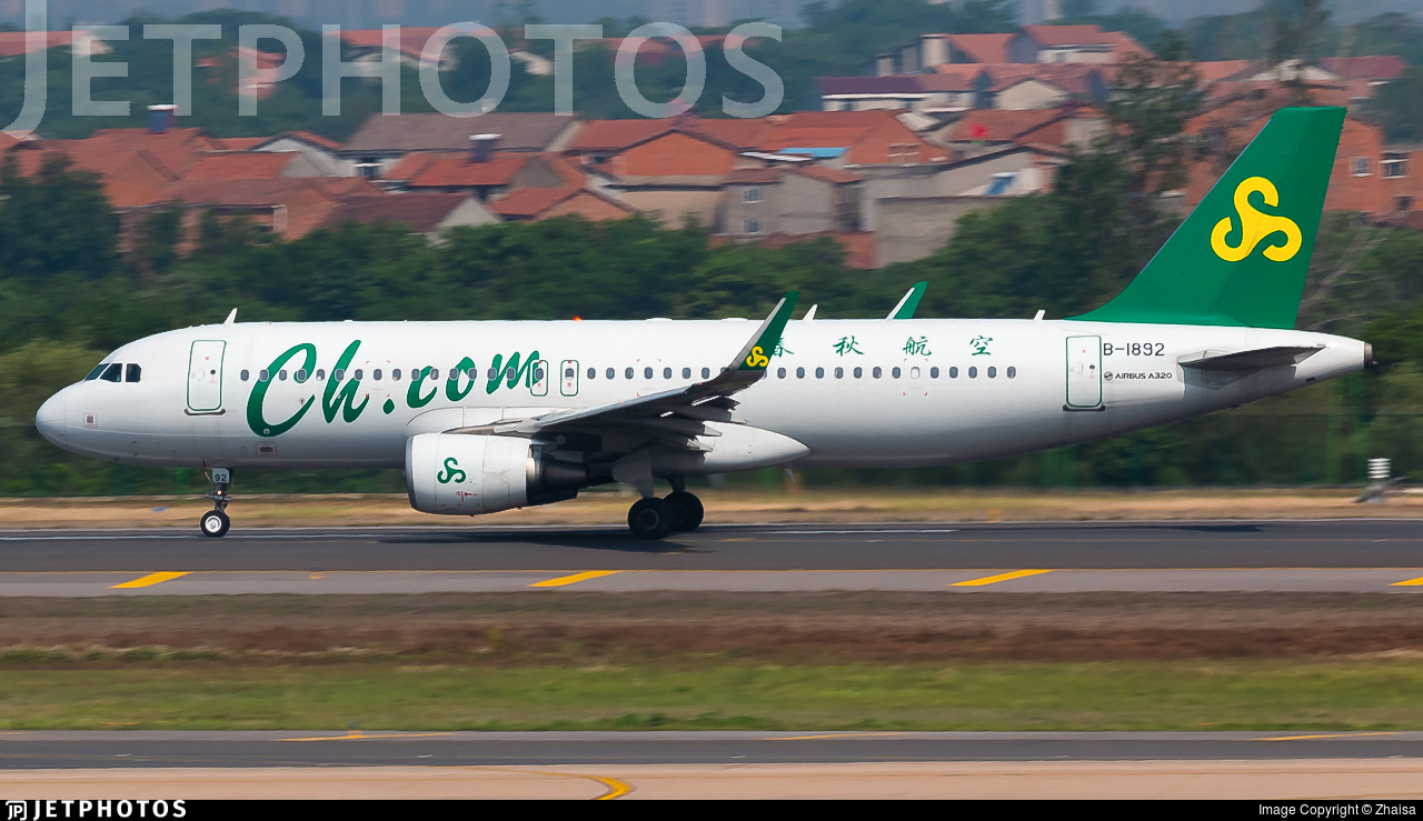 B-1892 - Airbus A320-214 - Spring Airlines