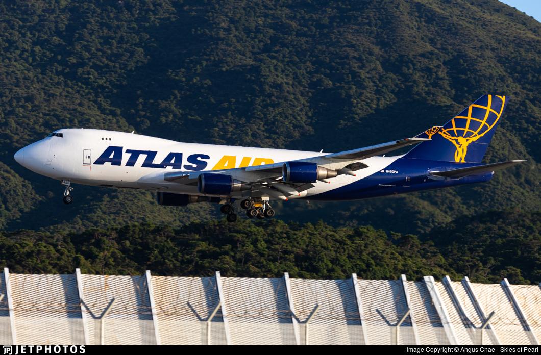N450PA - Boeing 747-46NF(SCD) - Atlas Air