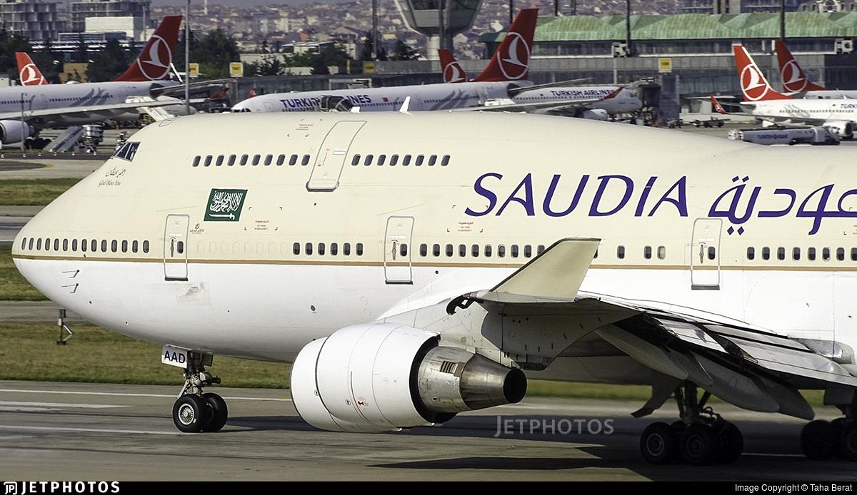 TF-AAD - Boeing 747-4H6 - Saudi Arabian Airlines (Air Atlanta Icelandic)