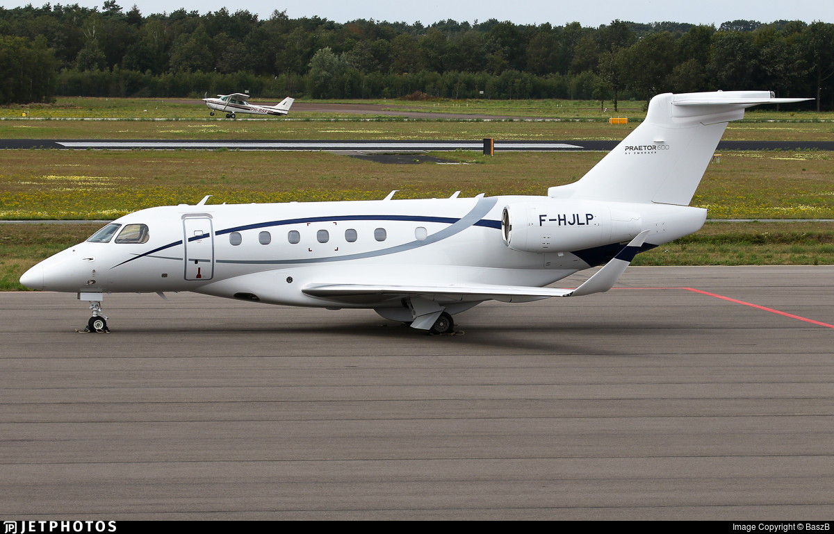 F-HJLP - Embraer EMB-550 Praetor 600 - Luxwing
