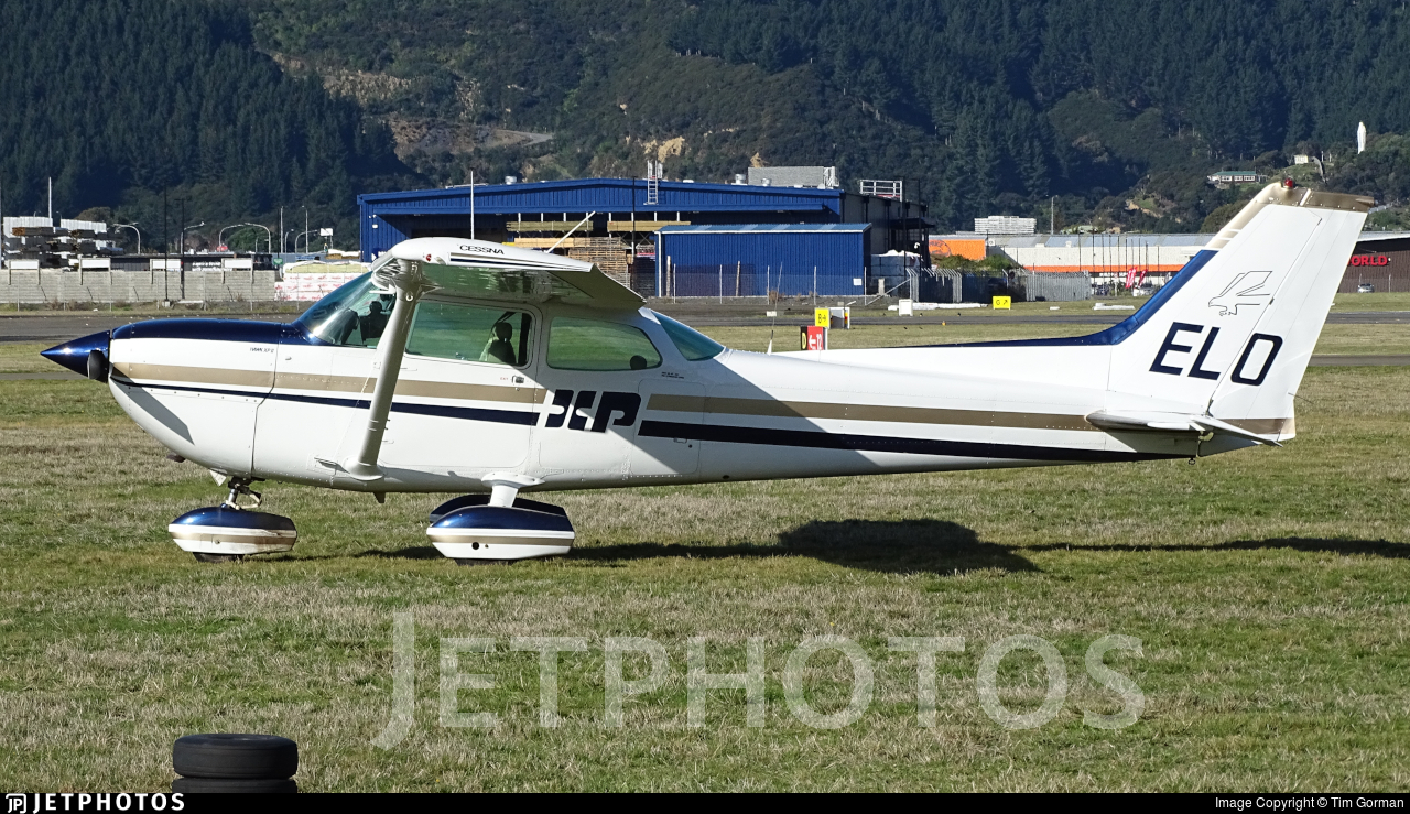 ZK-ELO - Cessna R172K Hawk XP - Private