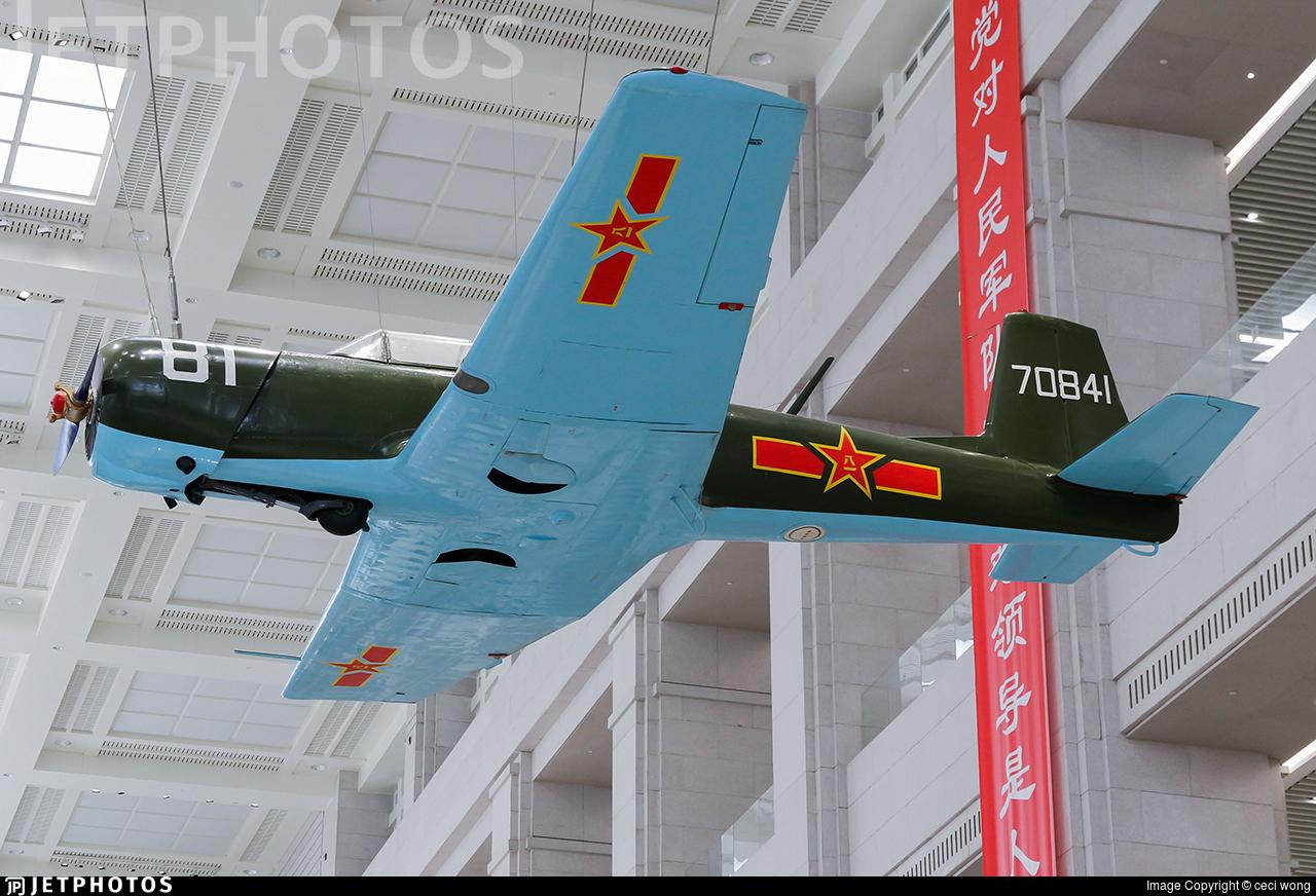 70841 - Nanchang CJ-6A - China - Air Force