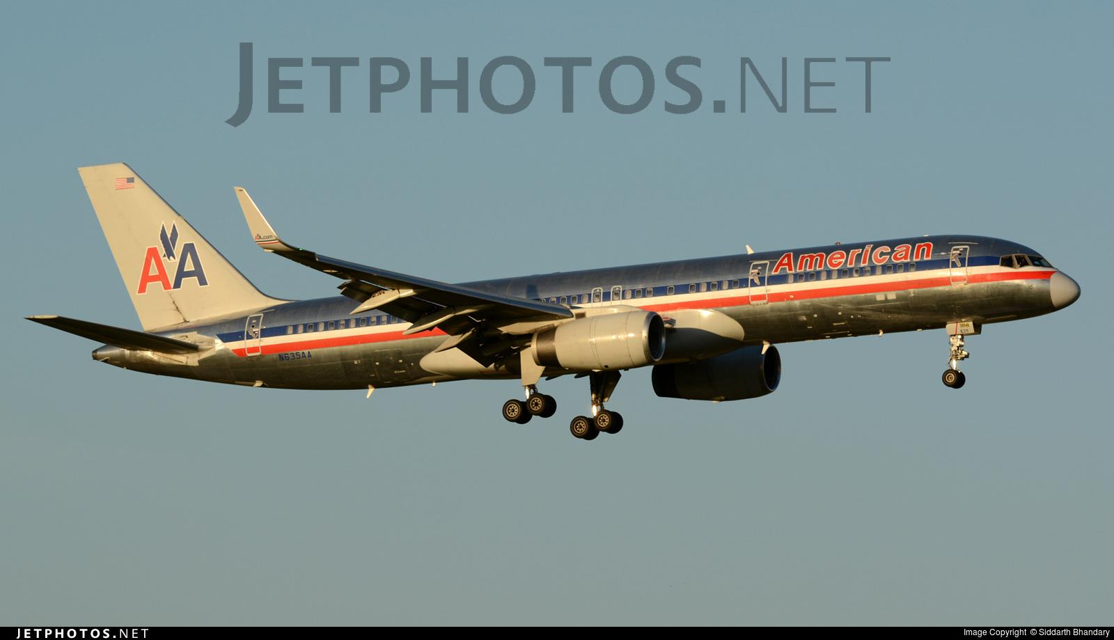 N635AA - Boeing 757-223 - American Airlines