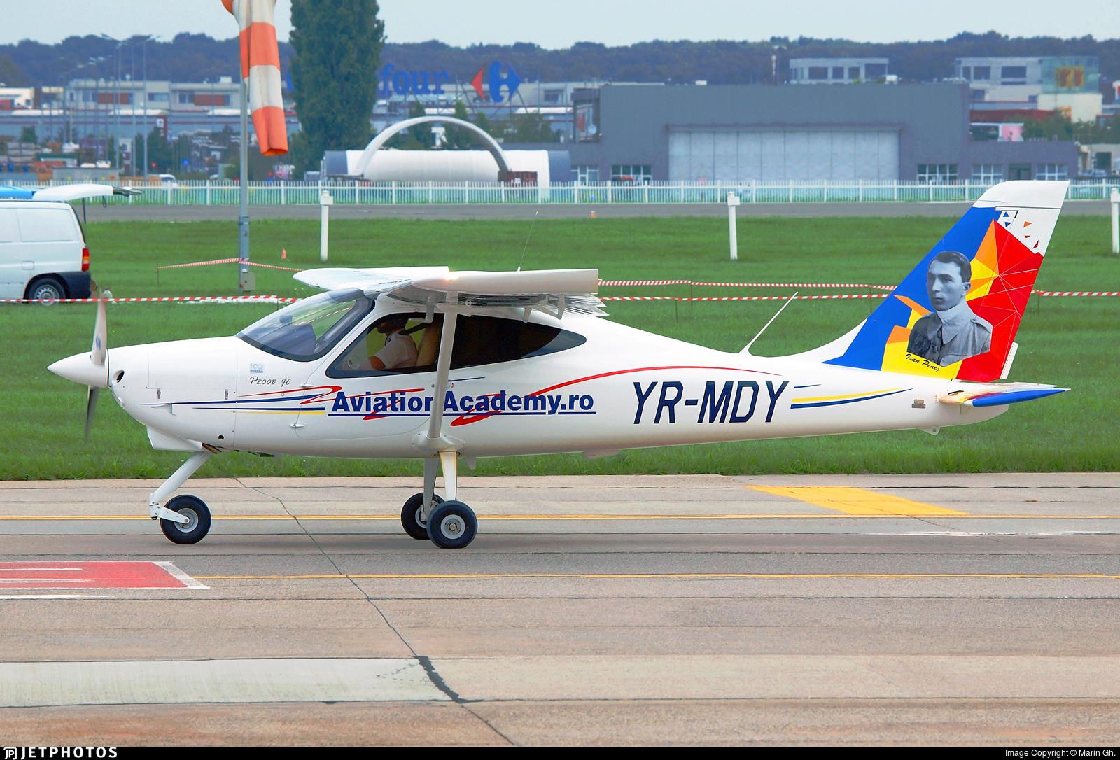 YR-MDY - Tecnam P2008JC - Romanian Aviation Academy