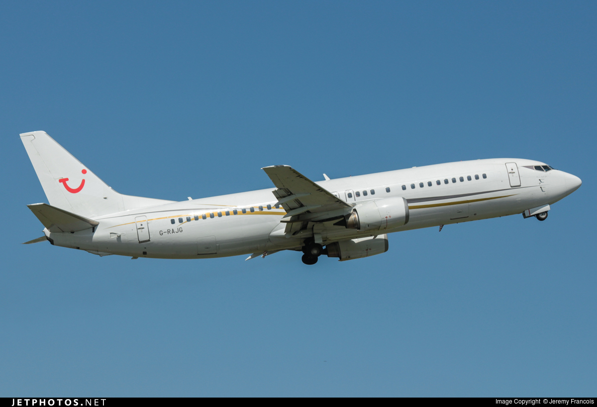 G-RAJG - Boeing 737-476 - Cello Aviation