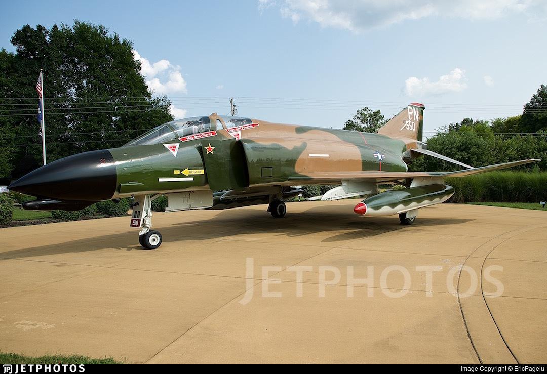 66-7550 - McDonnell Douglas F-4D Phantom II - United States - US Air Force (USAF)