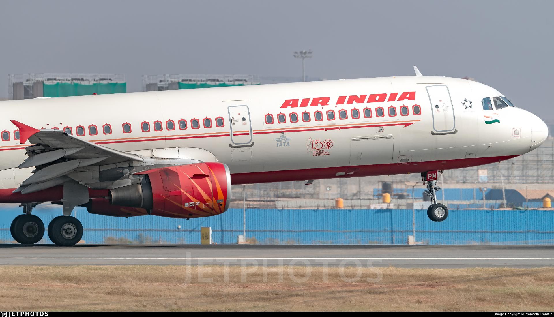 VT-PPM - Airbus A321-211 - Air India