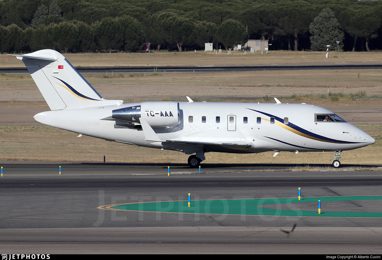 TC-AAA - Bombardier CL-600-2B16 Challenger 605 - Private