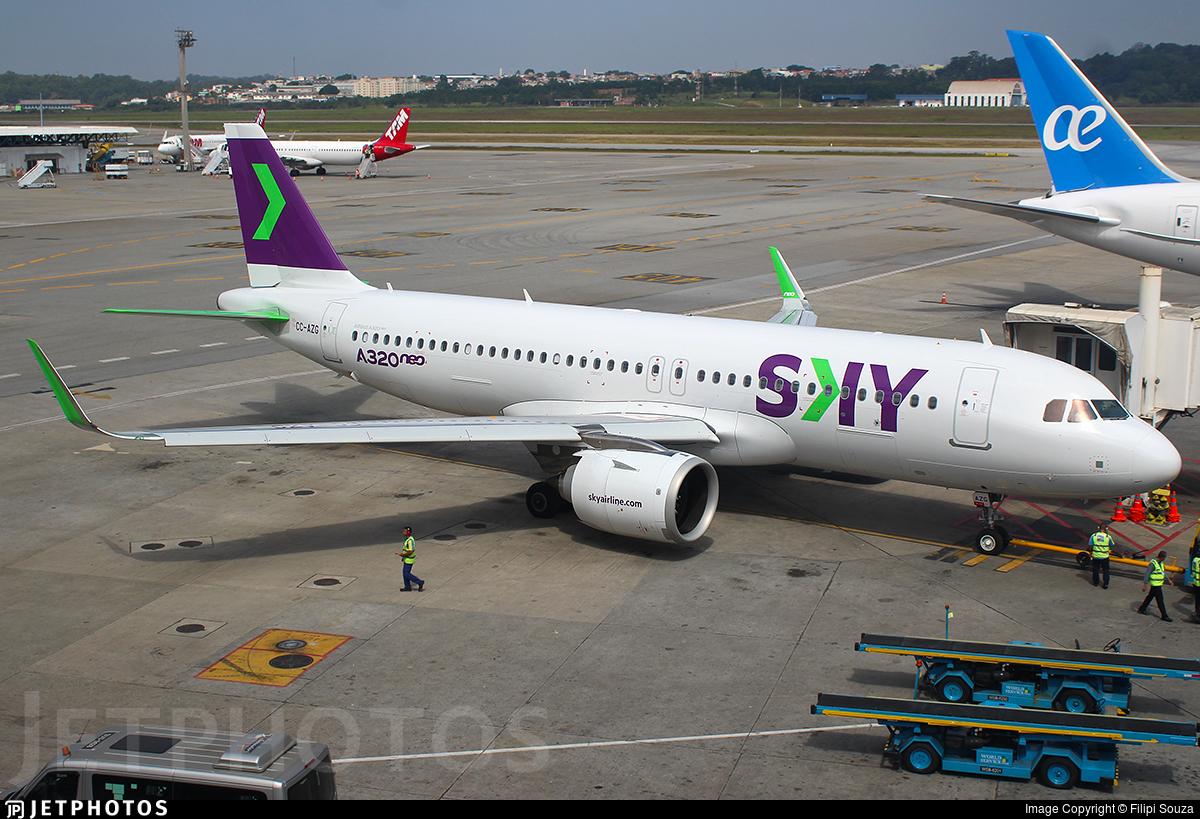 CC-AZG - Airbus A320-251N - Sky Airline