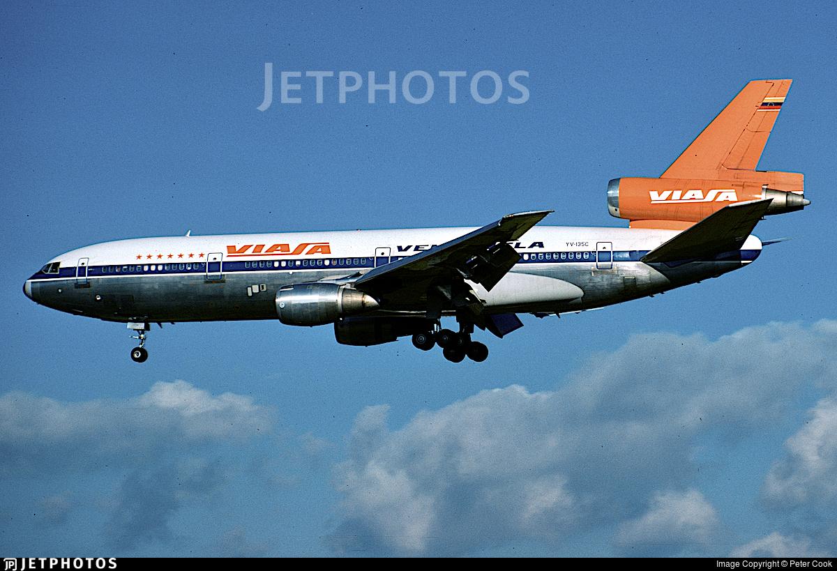 YV-135C - McDonnell Douglas DC-10-30 - Viasa