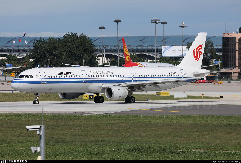 B-6605 - Airbus A321-213 - Air China