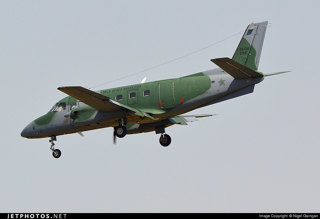 FAB2341 - Embraer C-95CM Bandeirante - Brazil - Air Force