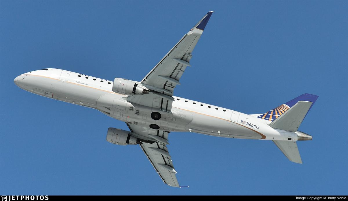 N601UX - Embraer 170-200LL - United Express (ExpressJet Airlines)