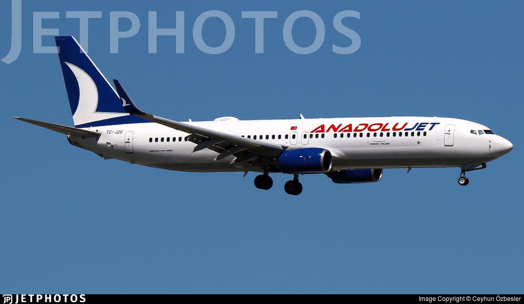 TC-JZO - Boeing 737-8JP - AnadoluJet