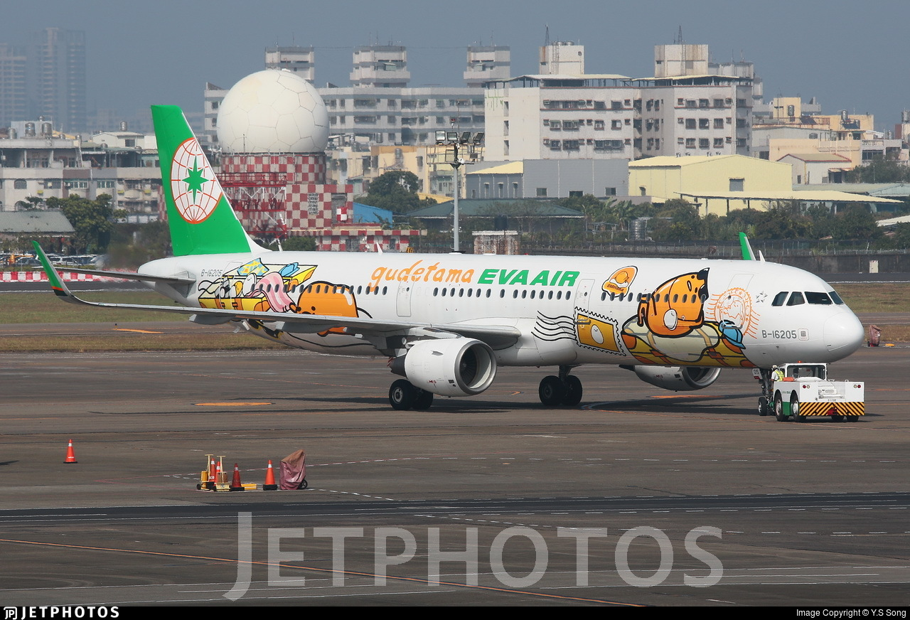 B-16205 - Airbus A321-211 - Eva Air