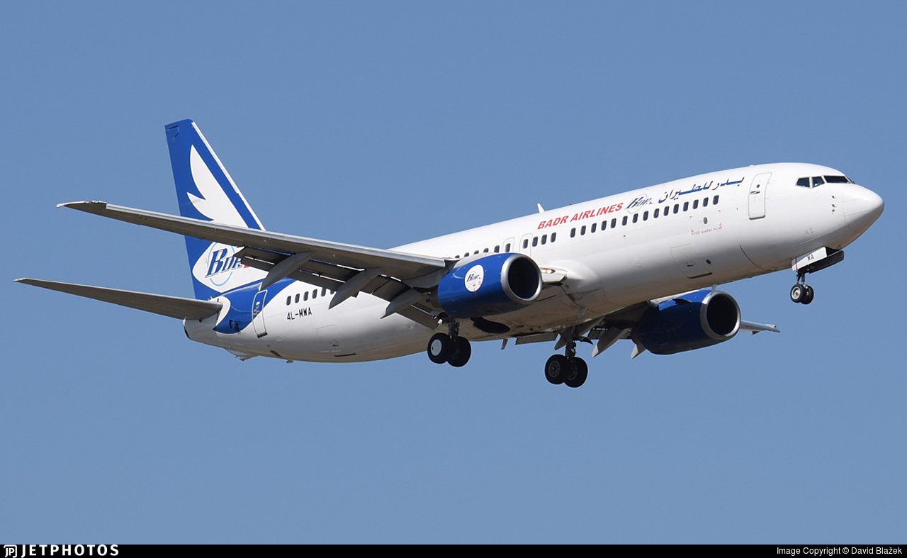 4L-MWA - Boeing 737-8AL - Badr Airlines
