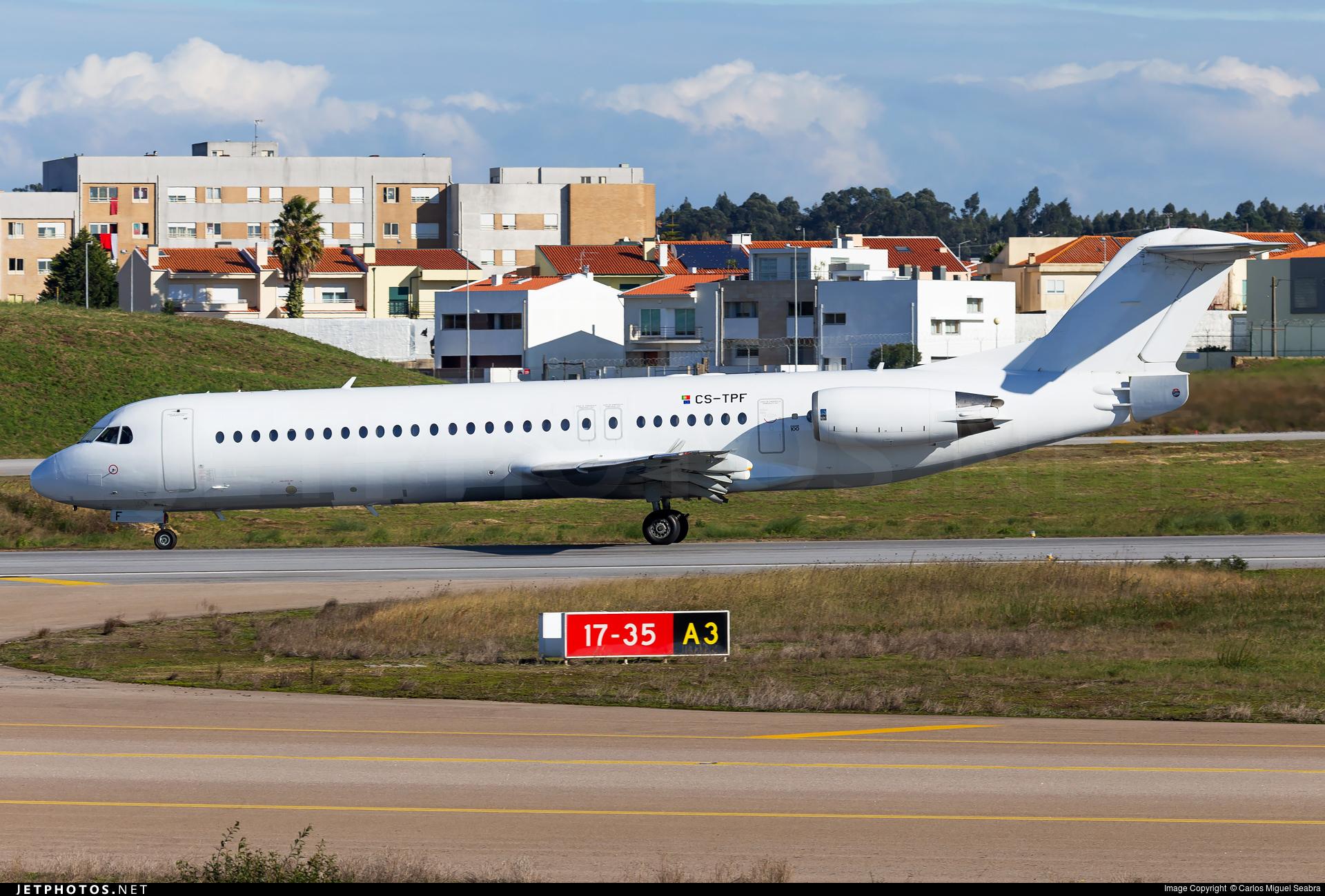 CS-TPF - Fokker 100 - Untitled