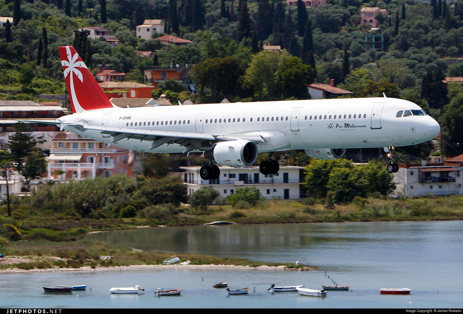 F-GYAO - Airbus A321-111 - Air Méditerranée