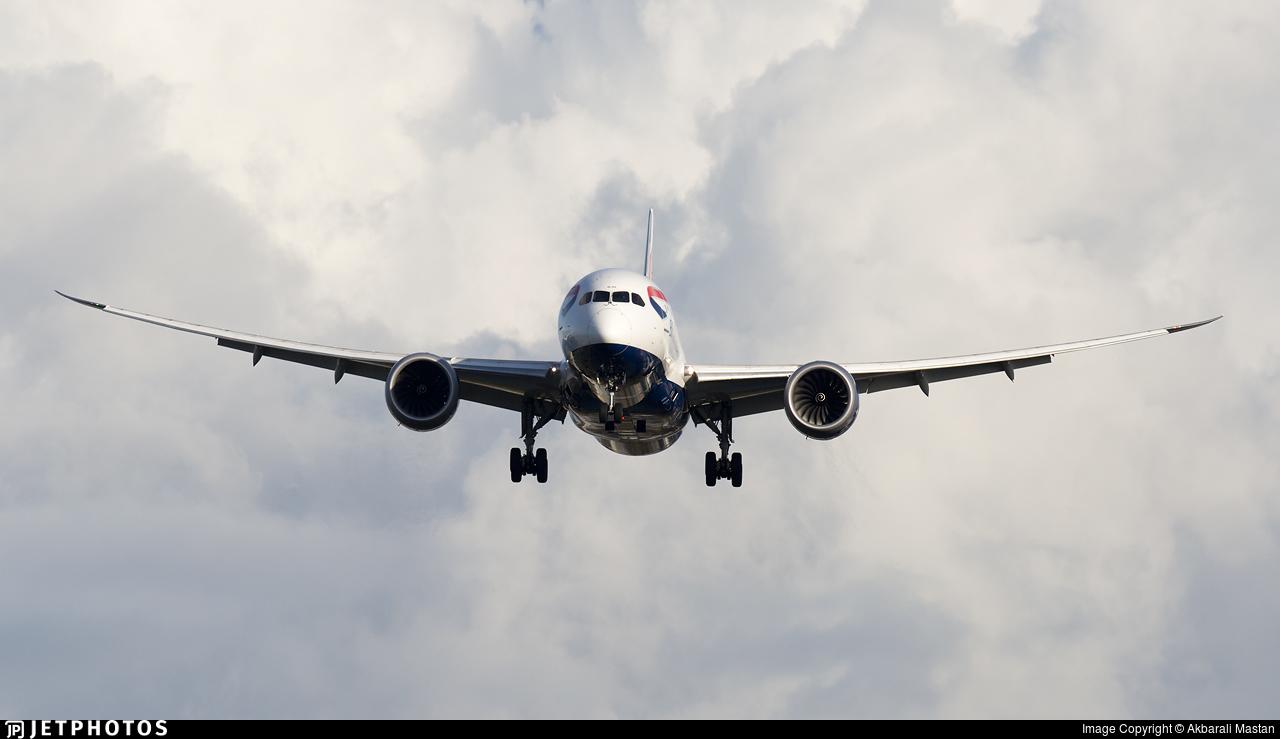G-ZBJD - Boeing 787-8 Dreamliner - British Airways