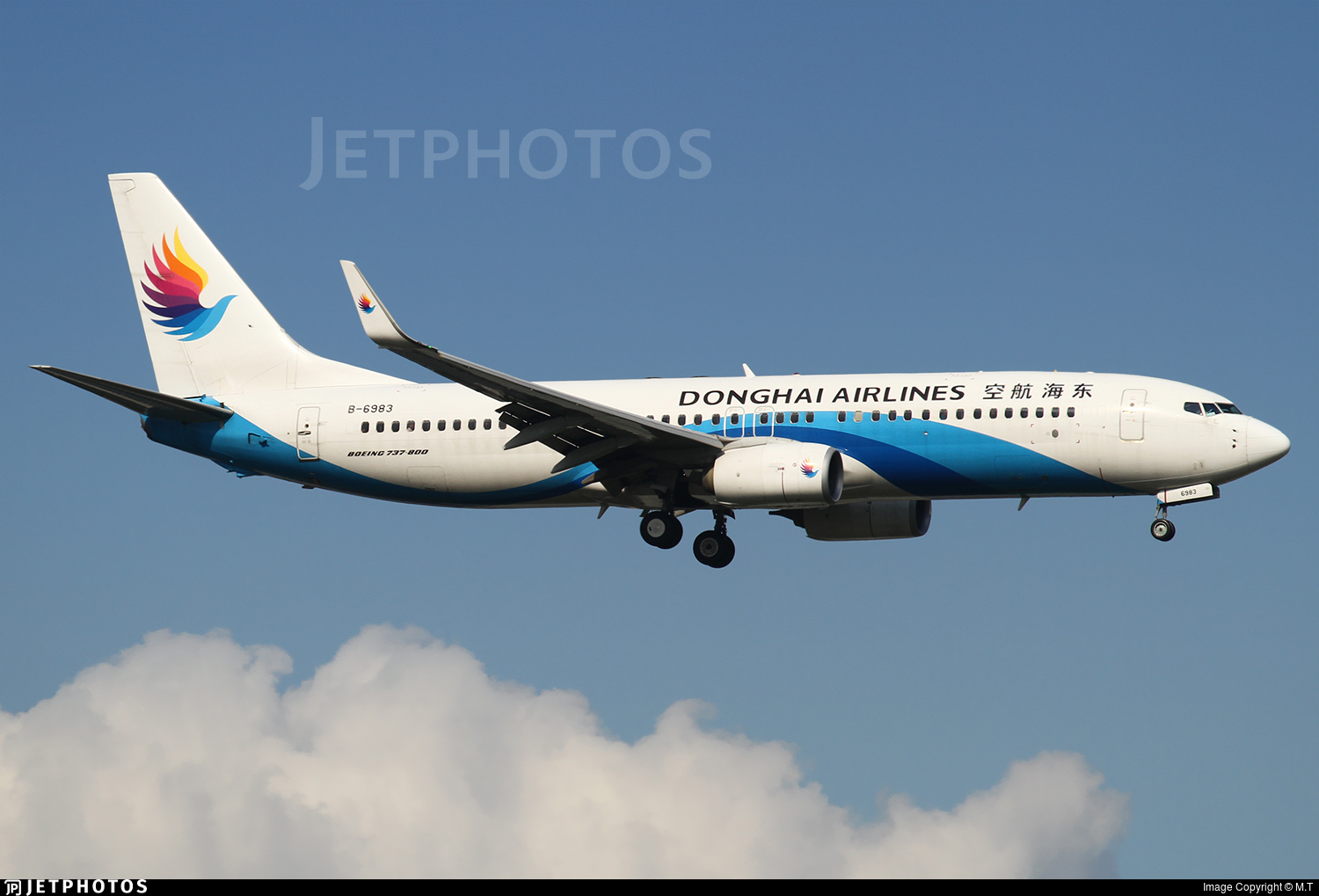 B-6983 - Boeing 737-83Z - Donghai Airlines