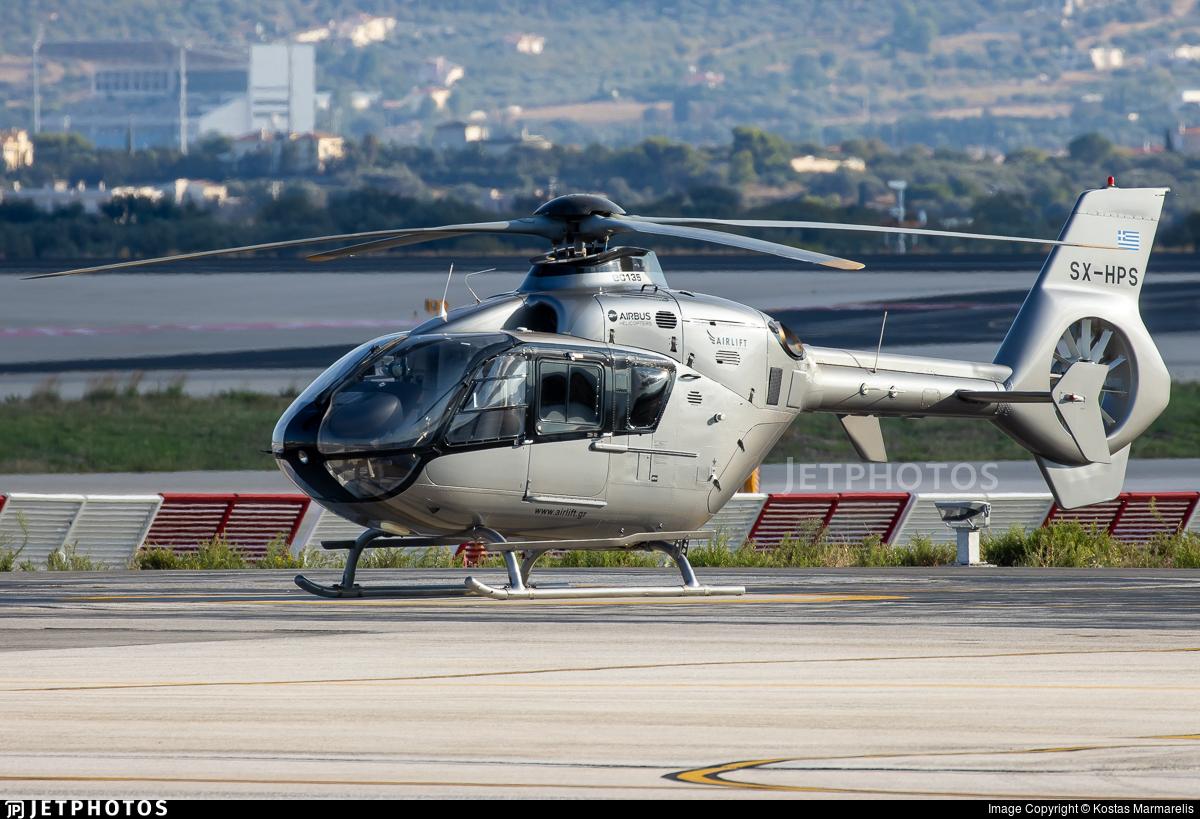 SX-HPS - Eurocopter EC 135T1 - Private