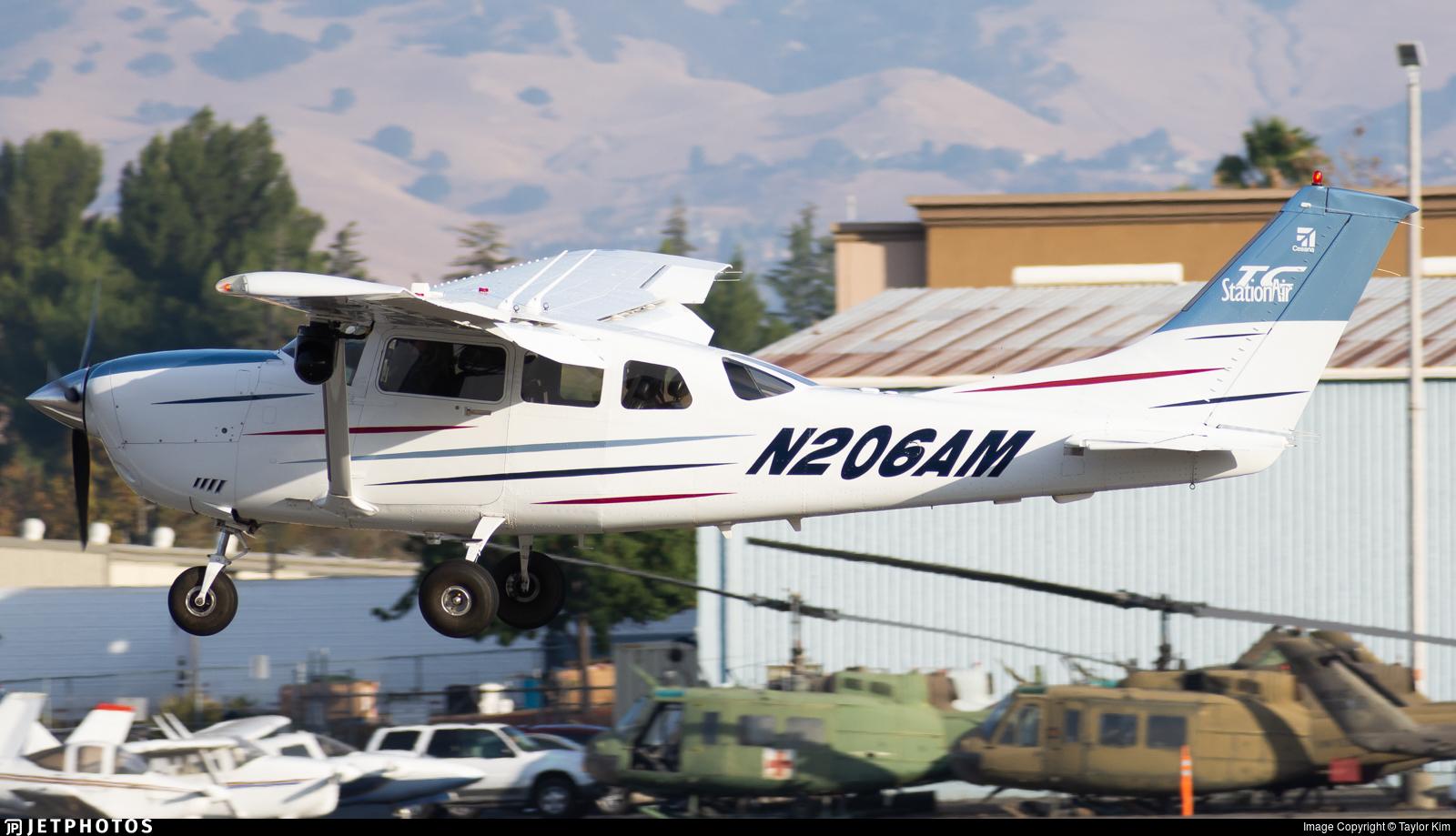 N206AM - Cessna T206H Stationair TC - Private