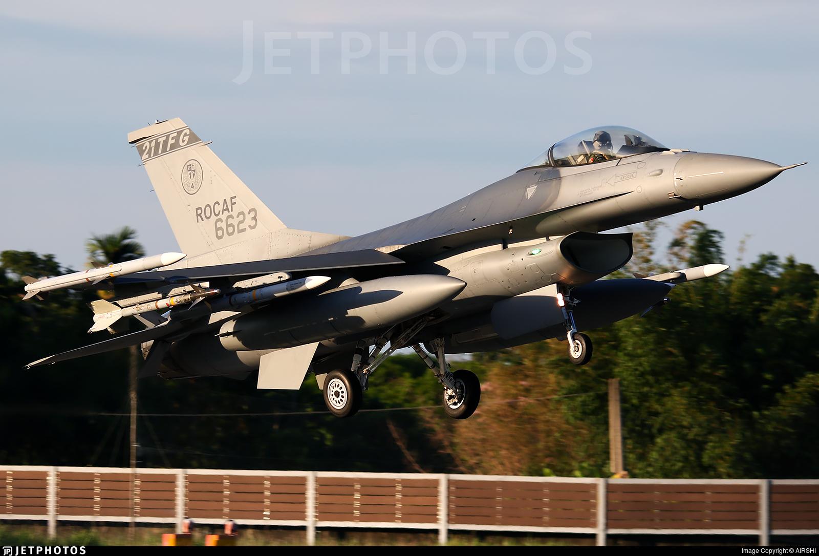 6623 - Lockheed Martin F-16AM Fighting Falcon - Taiwan - Air Force