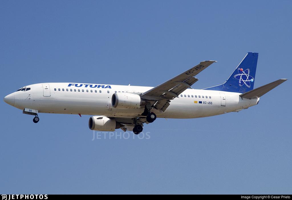 EC-JSS - Boeing 737-4K5 - Futura International Airways