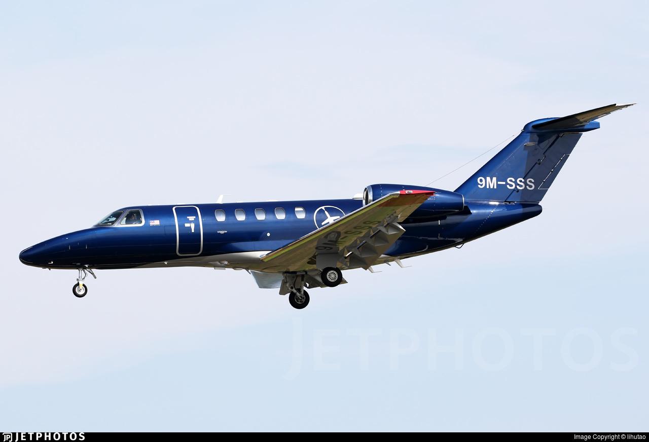 9M-SSS - Cessna 525 Citationjet CJ4 - Private