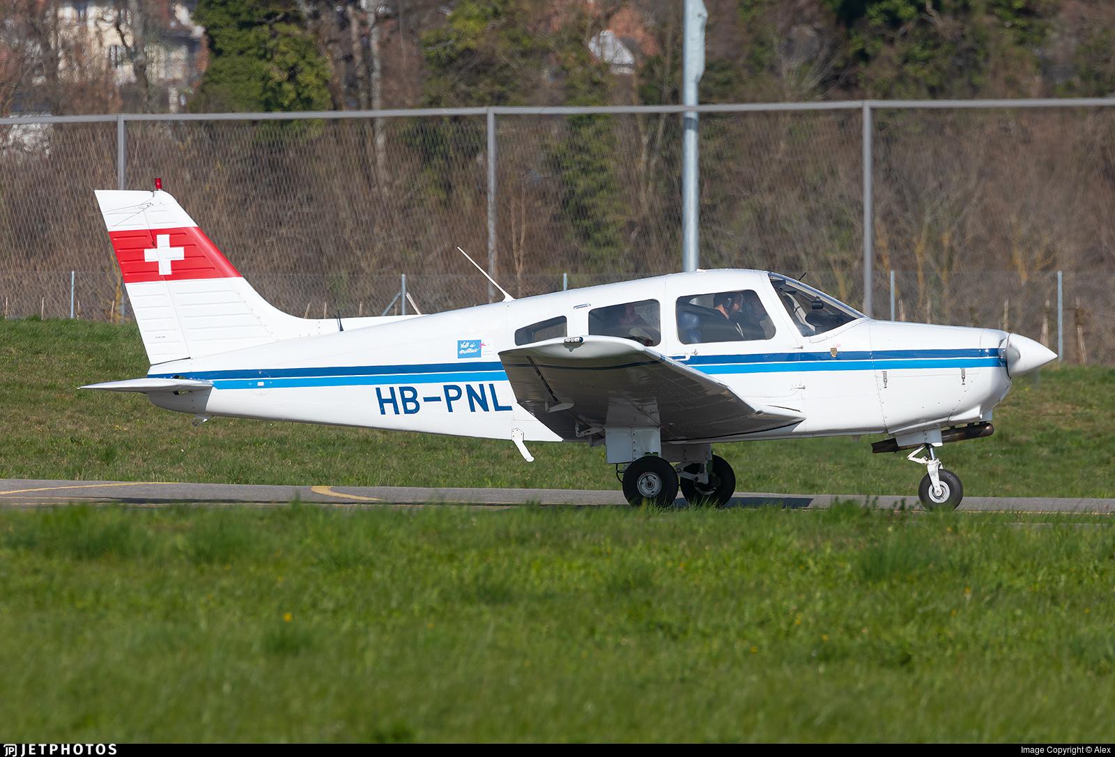 HB-PNL - Piper PA-28-161 Warrior II - Groupement de Vol à Moteur Lausanne
