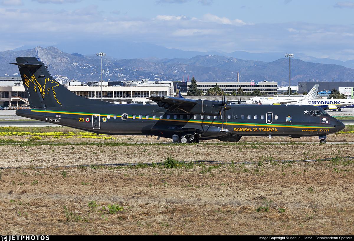 MM62311 - ATR 72-212A(600MP) - Italy - Guardia di Finanza