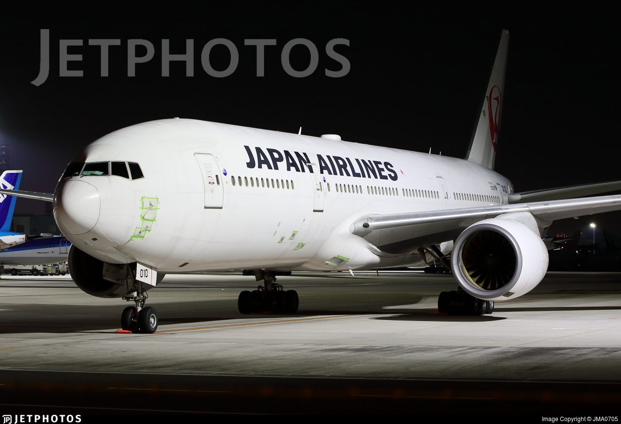 JA010D - Boeing 777-289 - Japan Airlines (JAL)