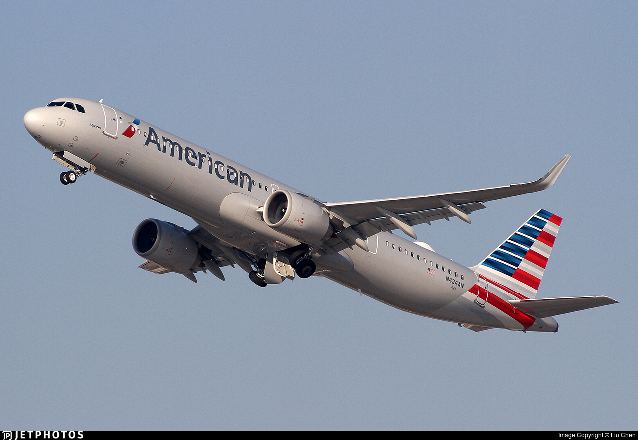 N424AN - Airbus A321-253NX - American Airlines