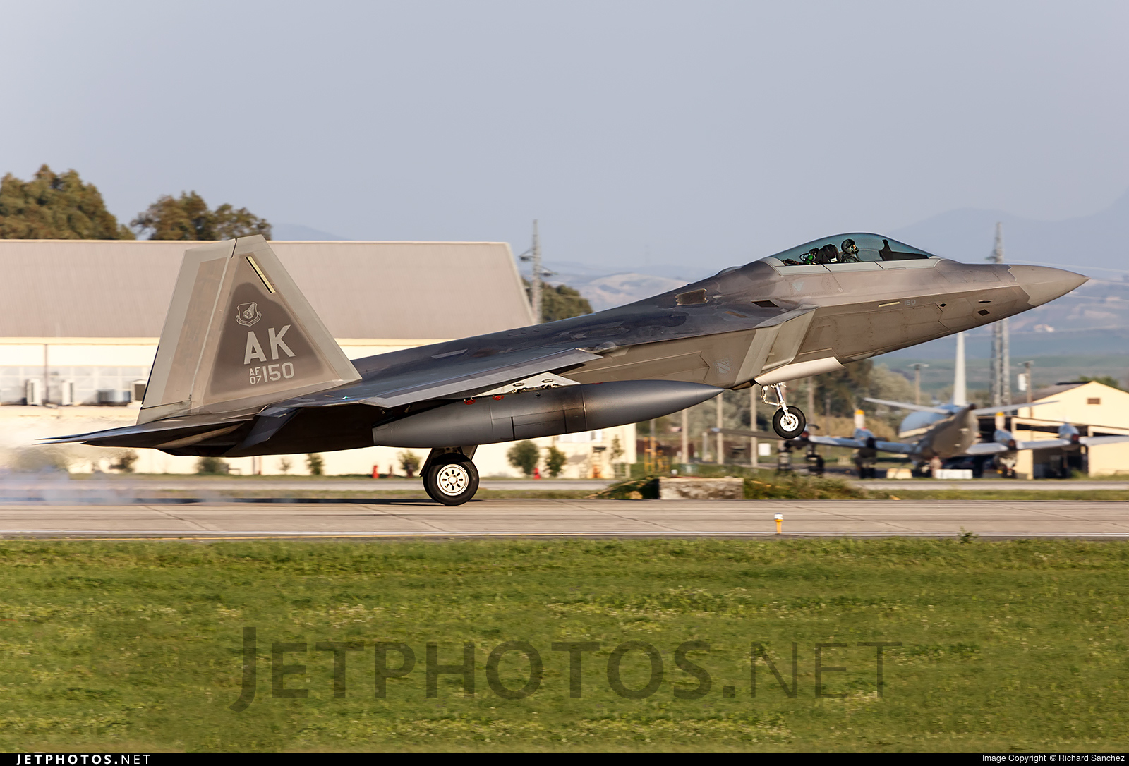 07-4150 - Lockheed Martin F-22A Raptor - United States - US Air Force (USAF)