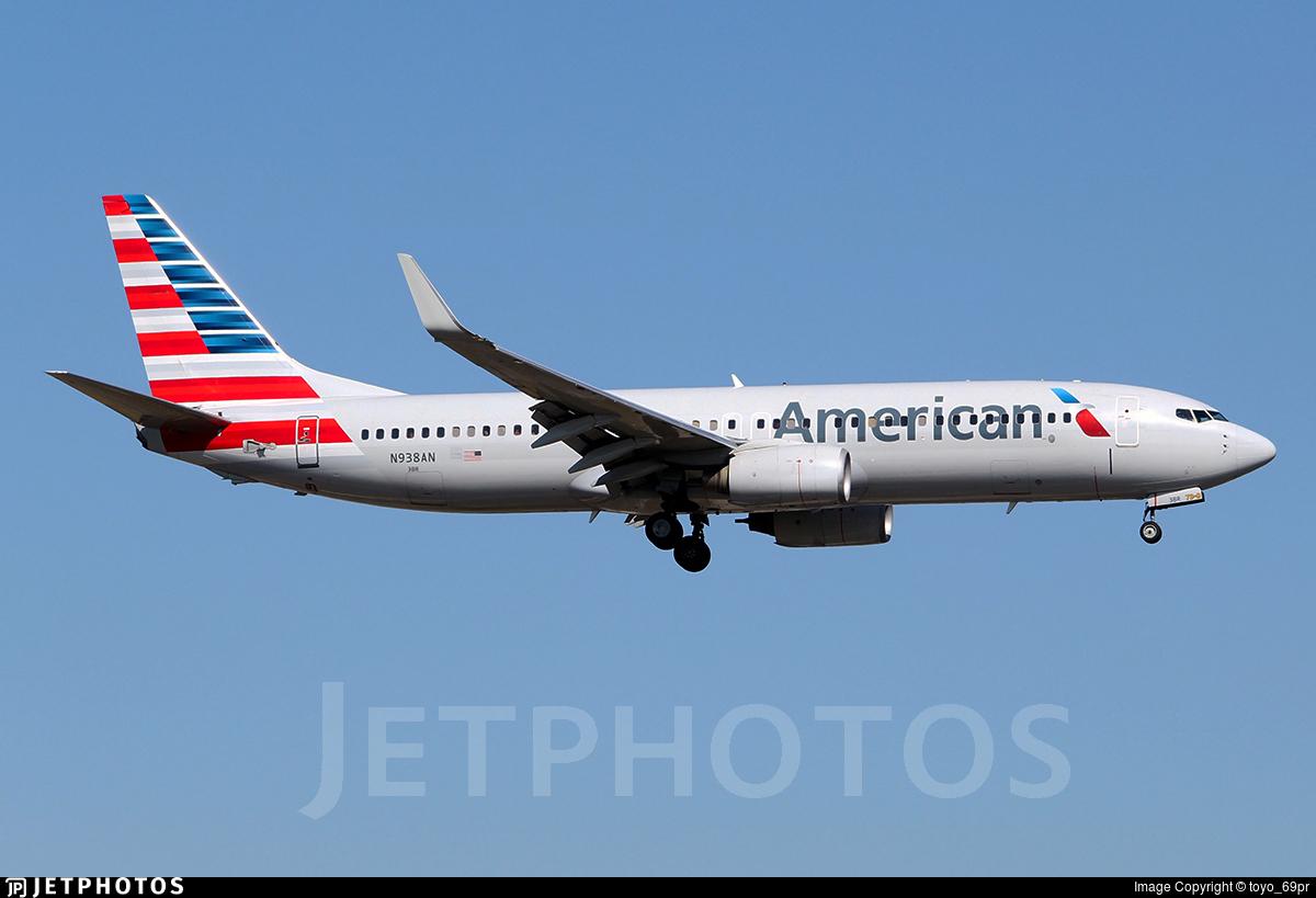 N938AN - Boeing 737-823 - American Airlines
