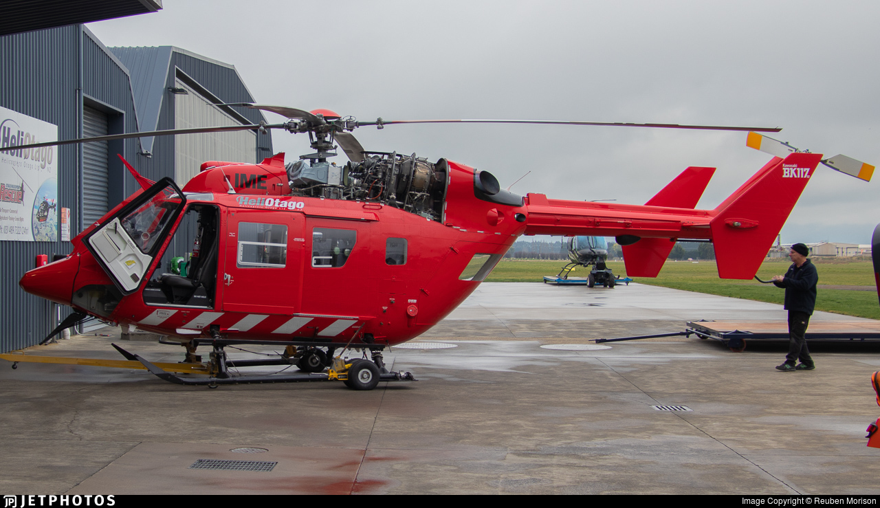 ZK-IME - MBB-Kawasaki BK117D-2 - Helicopters Otago