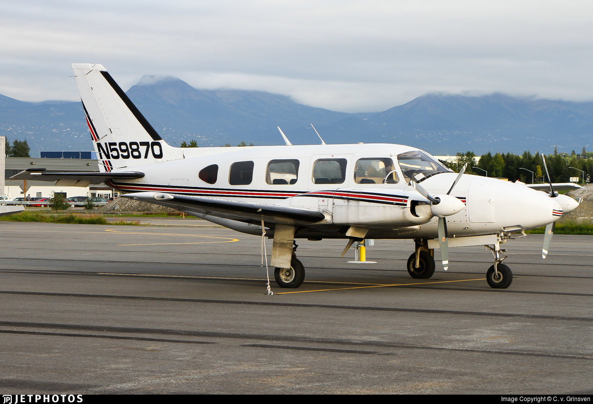 N59870 - Piper PA-31-310 Navajo - Private