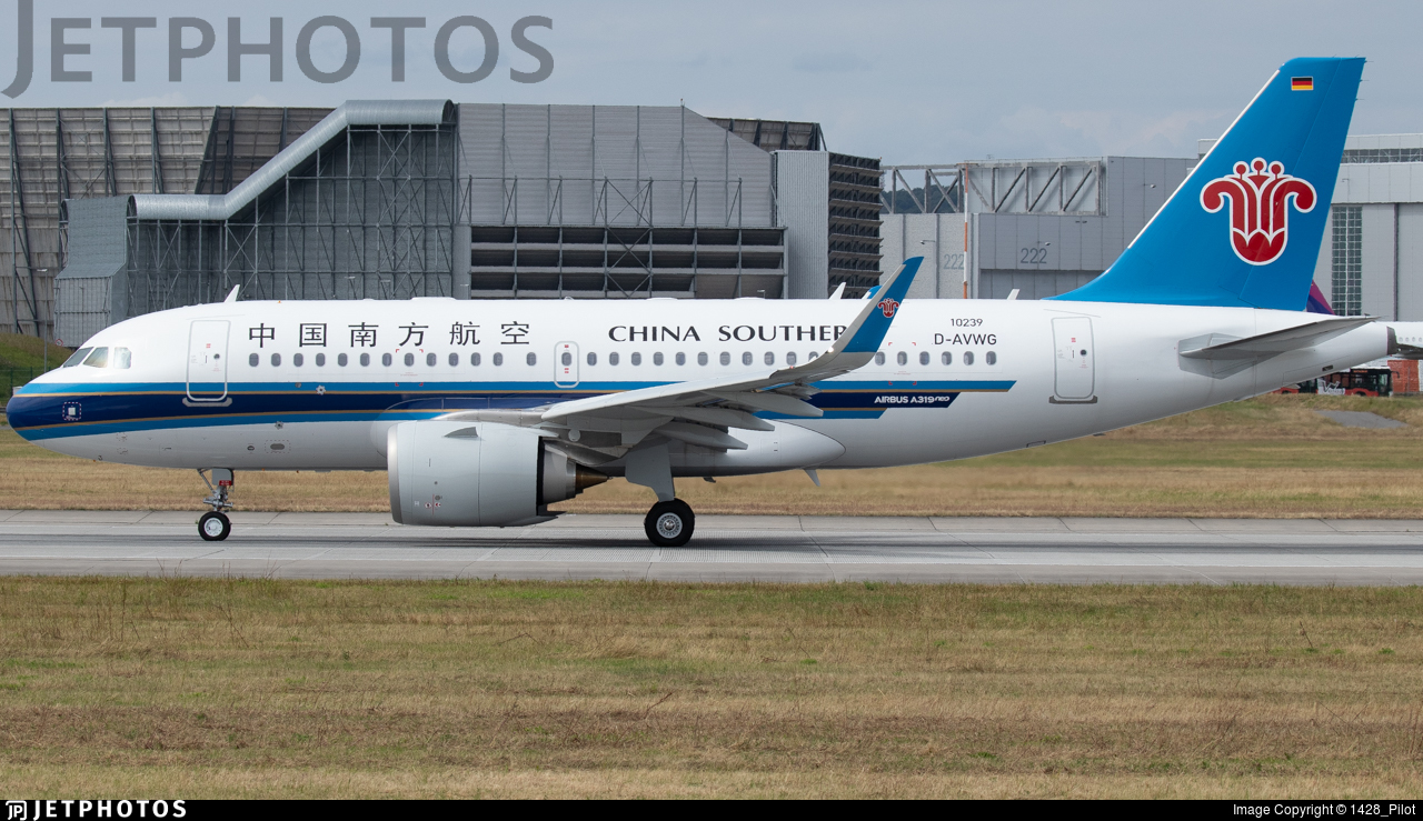 D-AVWG - Airbus A319-153N - China Southern Airlines