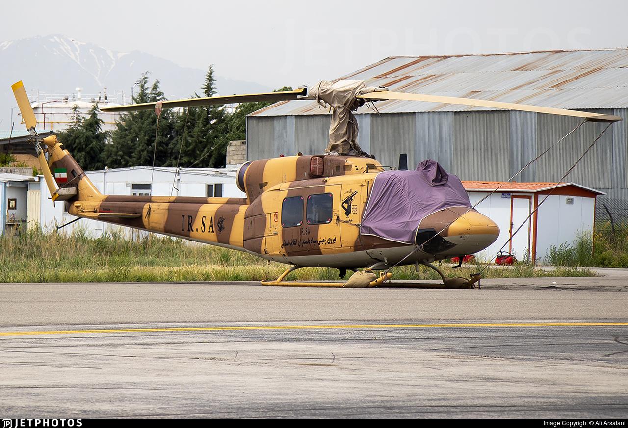 12-3309 - Bell 214B - Iran - Revolutionary Guard