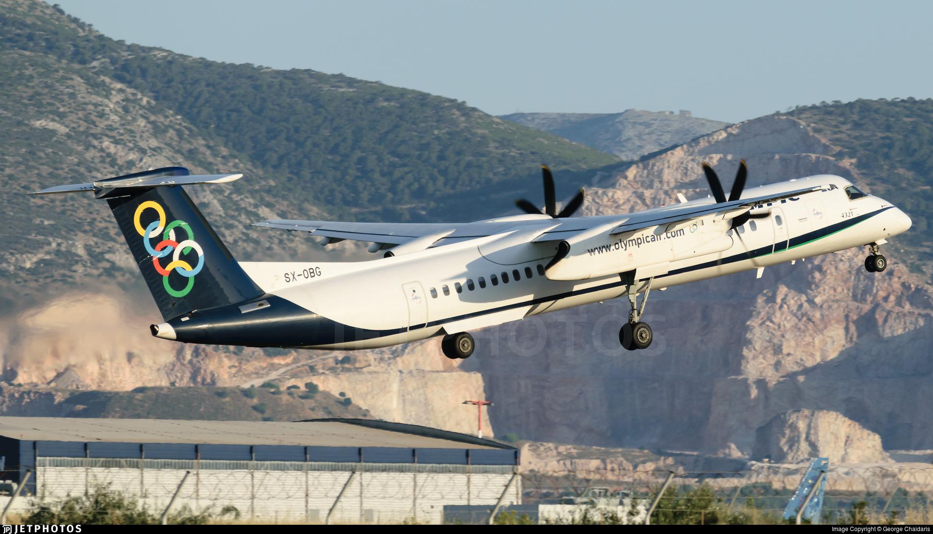 SX-OBG - Bombardier Dash 8-Q402 - Olympic Air