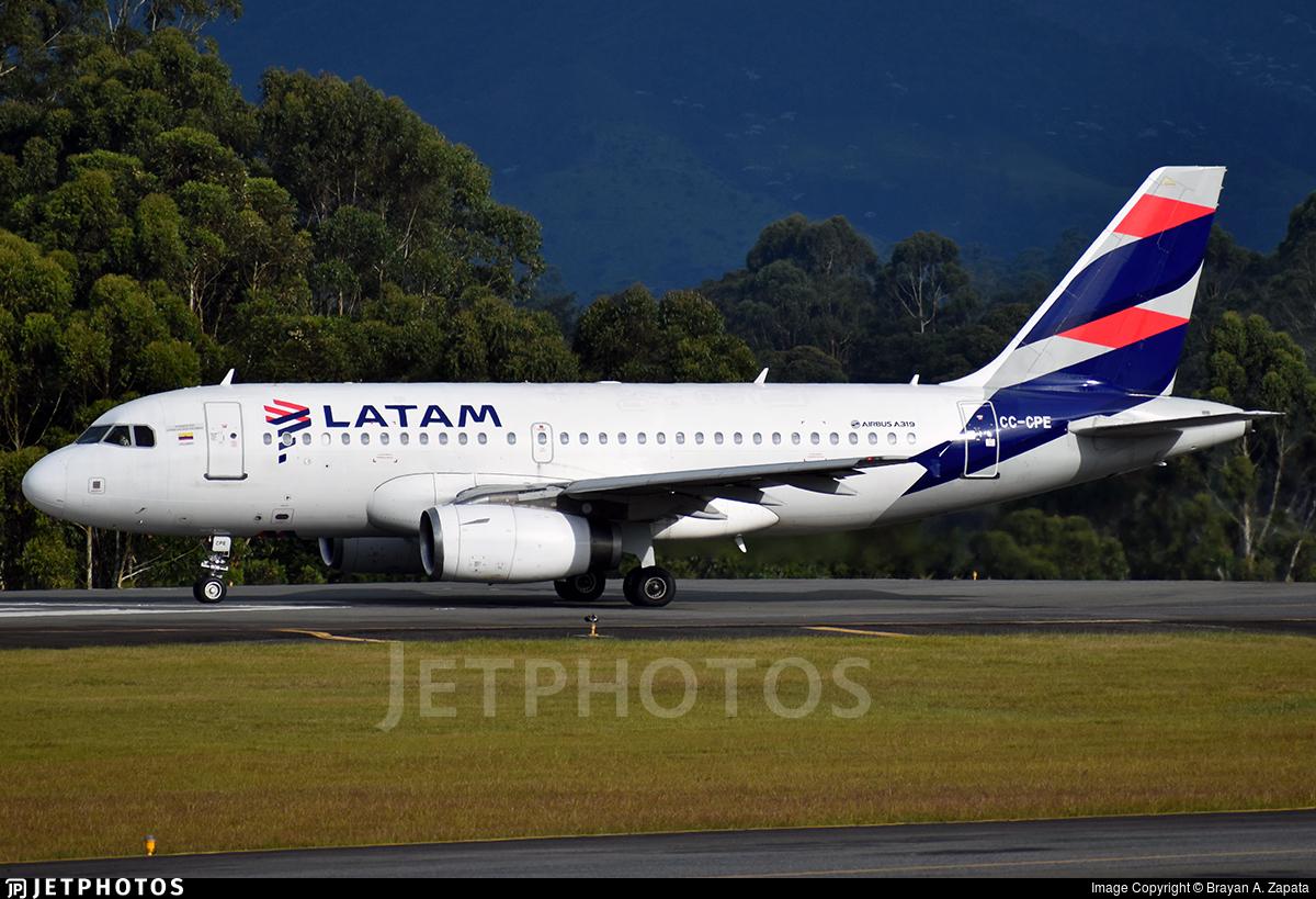 CC-CPE - Airbus A319-132 - LATAM Airlines