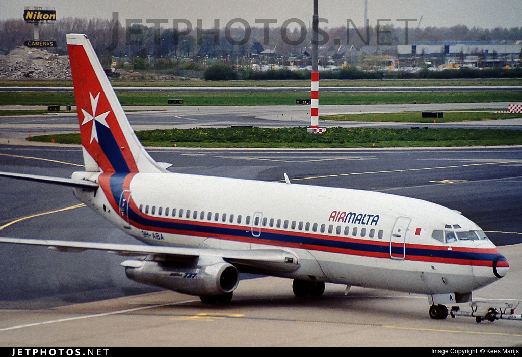 9H-ABA - Boeing 737-2Y5(Adv) - Air Malta