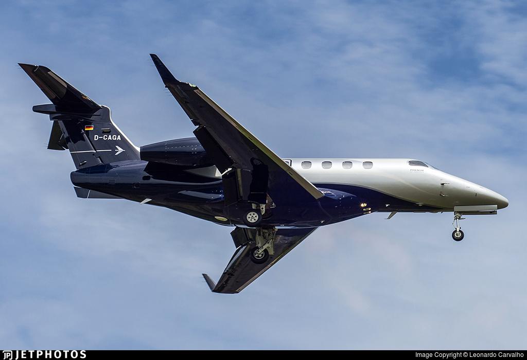 D-CAGA - Embraer 505 Phenom 300 - Private